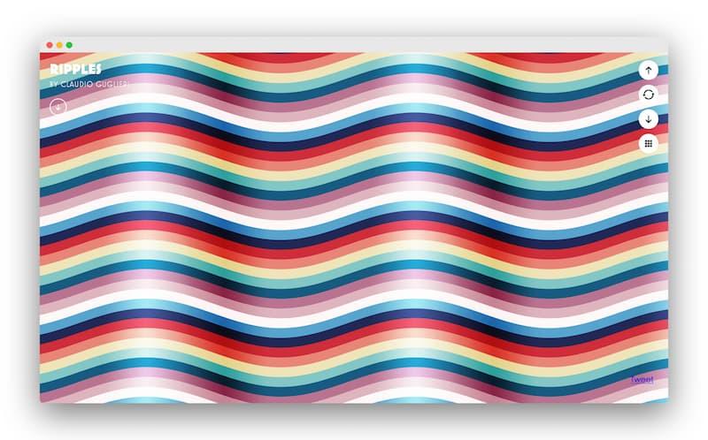 Pattern Library|设计师收藏50多款精美的背景图案