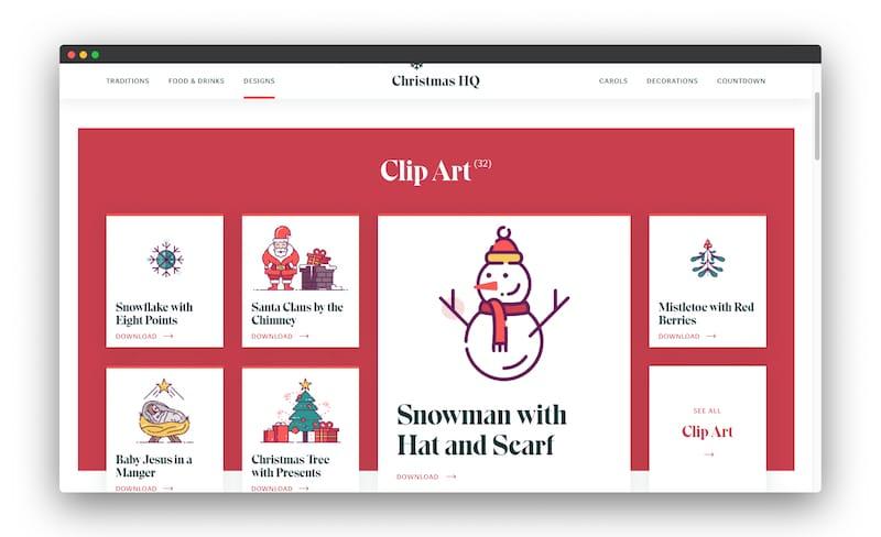 圣诞总部 | 收集圣诞节设计资源