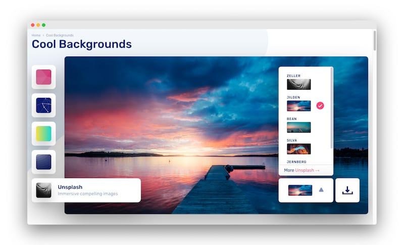 Cool Backgrounds   一款时尚背景图像生成工具