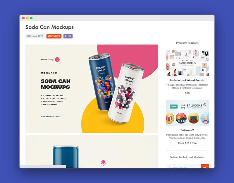 Pixelbuddha | 一个创意团队打造免费优质的设计资源