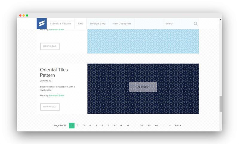 Subtlepatterns | 500多款顶级PS纹理图案免费打包下载