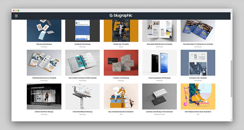 Blugraphic | 专注收集免费设计资源,让设计师的工作变得更轻松