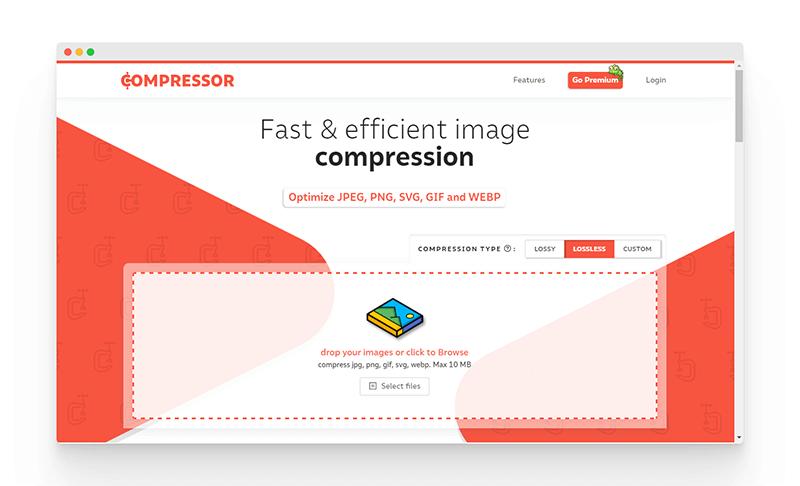 Compressor | 快速高效的图片压缩神器