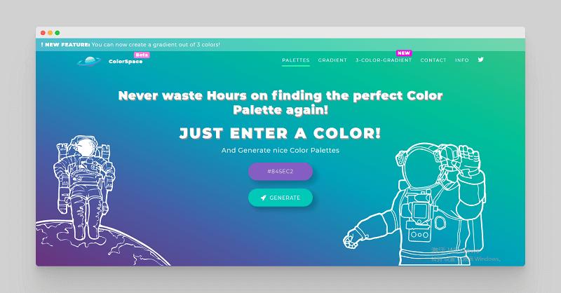 ColorSpace | 色彩空间在线调色神器