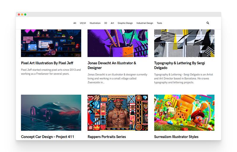 Masterpicks | 有趣富有创意的设计灵感社区