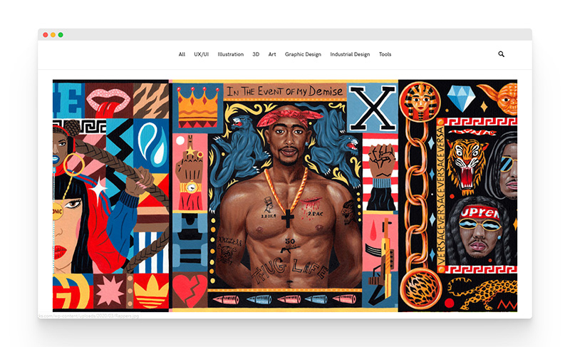 Masterpicks   有趣富有创意的设计灵感社区