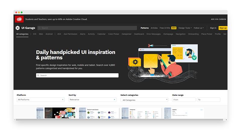 UI Garage | 每日精心挑选UI设计作品