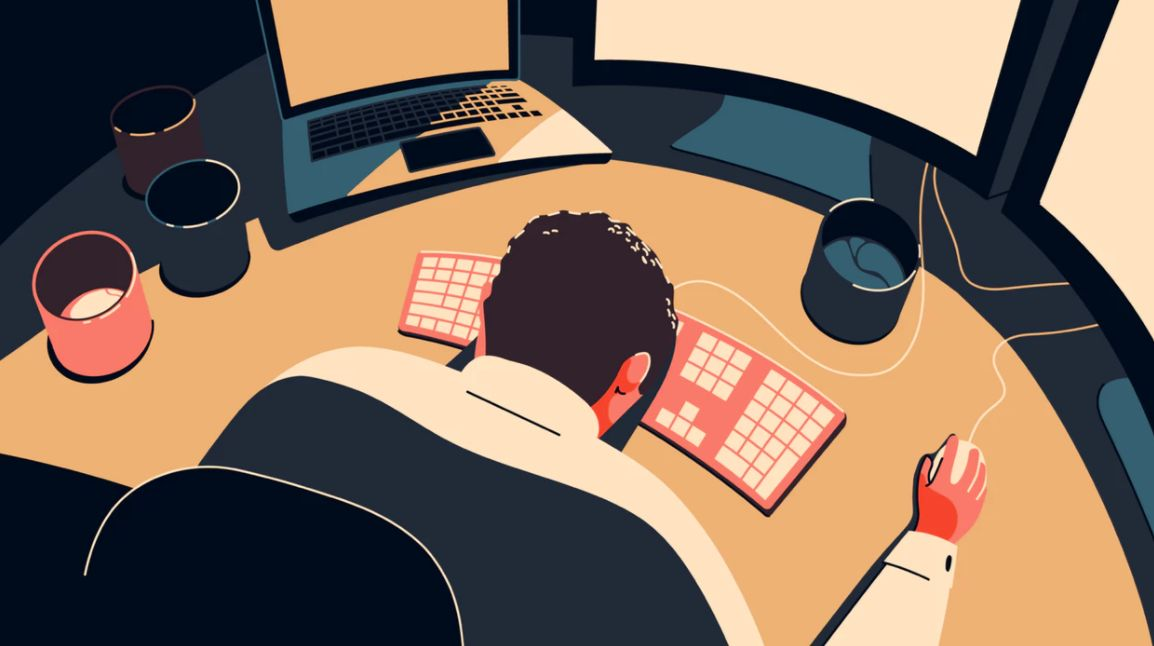 Mixkit 插画|免费可商用的插画壁纸素材网