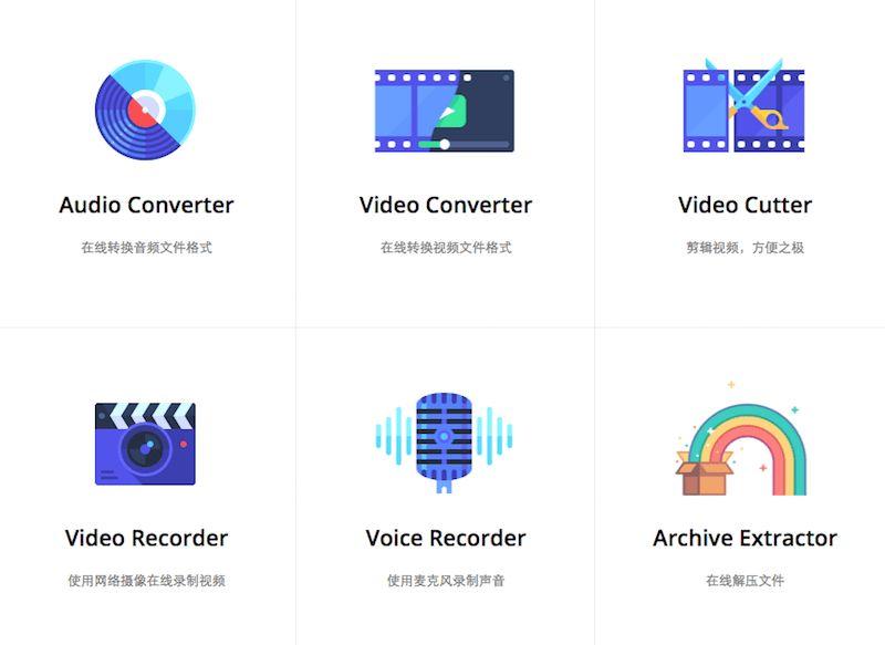123APPS 免安装跨平台在线视频剪辑工具