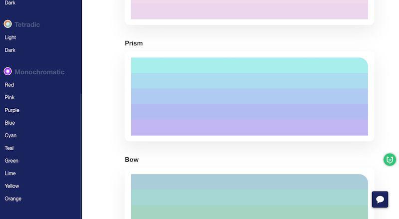 Culrs|设计师在线调色板,提供设计配色方案