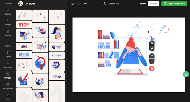 Vector Creator|免费插画生成在线工具