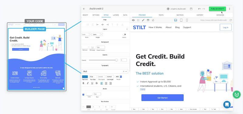 Builder|网站布局在线设计工具
