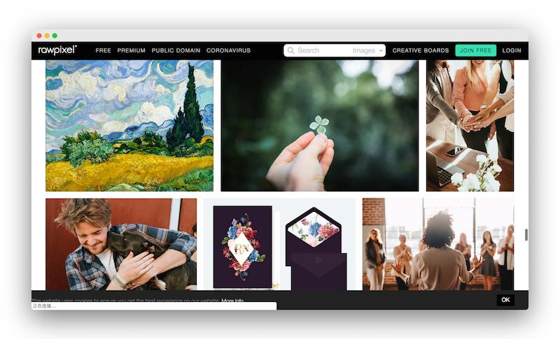 RawPixel|一个免费的灵感图片资源库