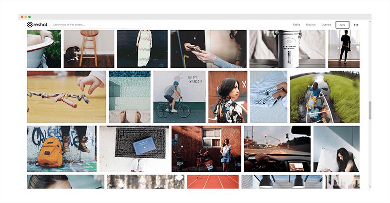 Reshot   全球最优秀摄影师分享的免费图片库