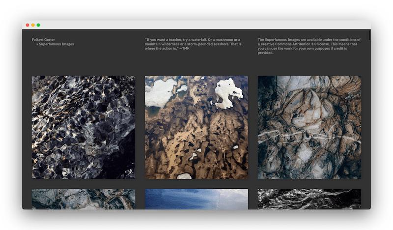 Superfamous 200多张高清的岩石地貌等自然肌理免费下载