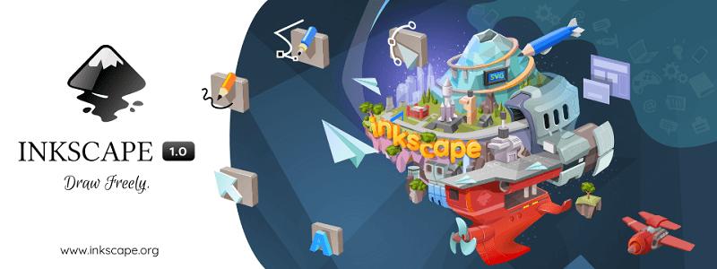 Inkscape | 历经17年后隆重发布的开源插图设计神器