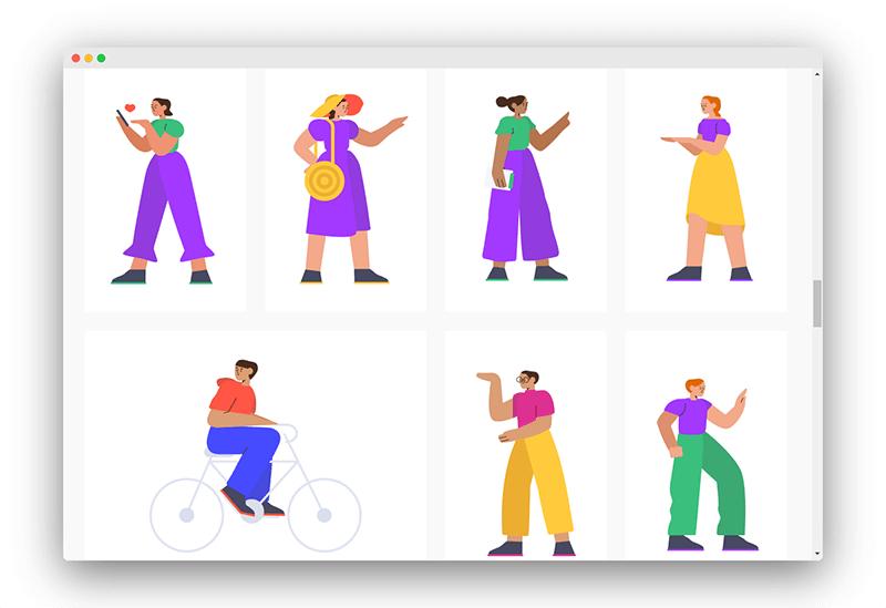 Smash | 一套精美商务插图插画设计素材免费下载