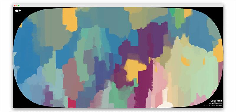 Color Push | 90秒创作一幅艺术品的设计神器