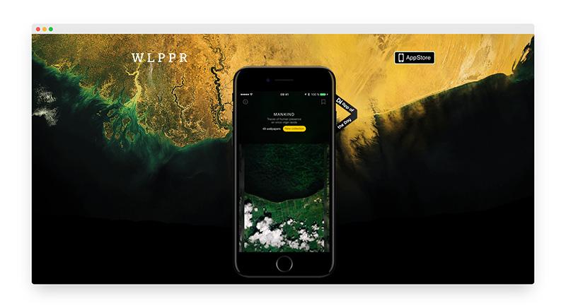 Wippr | 超现实航拍地球主题壁纸