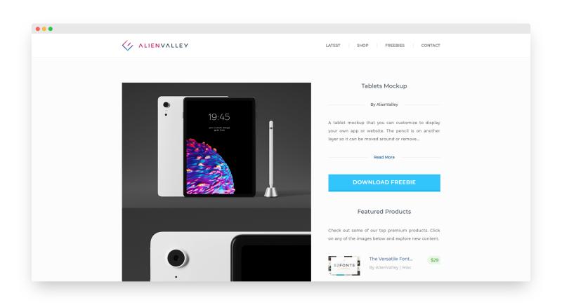 Alienvalley | 国外高质量创意设计资源站