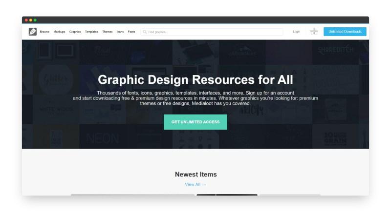 Medialoot | 国外免费平面设计资源