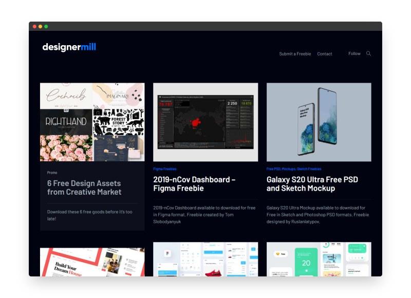 Designermill | 收集全球设计师创作的设计作品