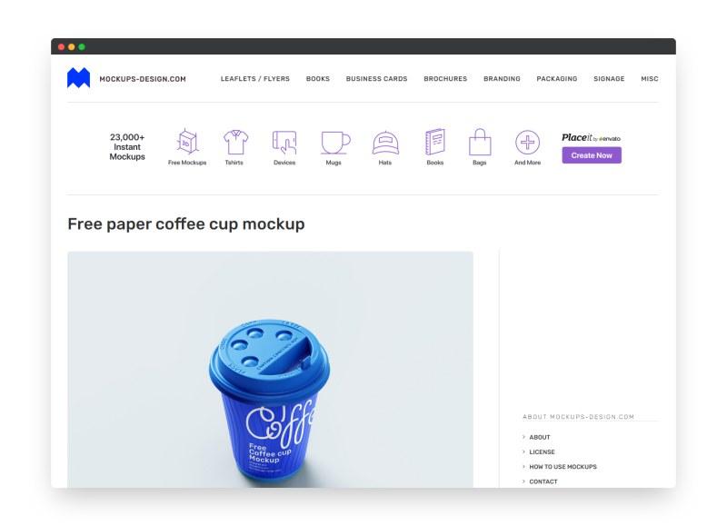 Mockups-Design | 国外免费高级样机模型素材