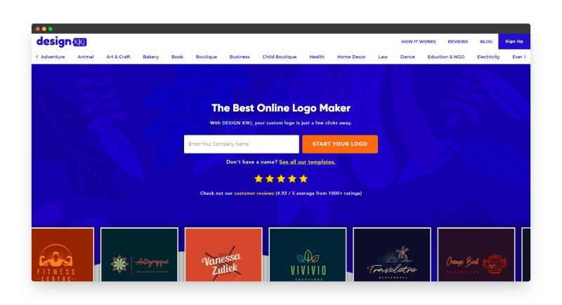Designkiki | 一款Logo在线设计神器