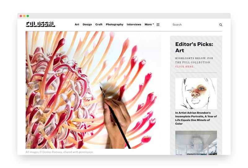Colossal | 当代艺术视觉的国际平台