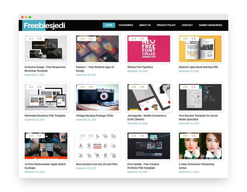 Freebiesjedi | 精选全球设计师分享的设计资源