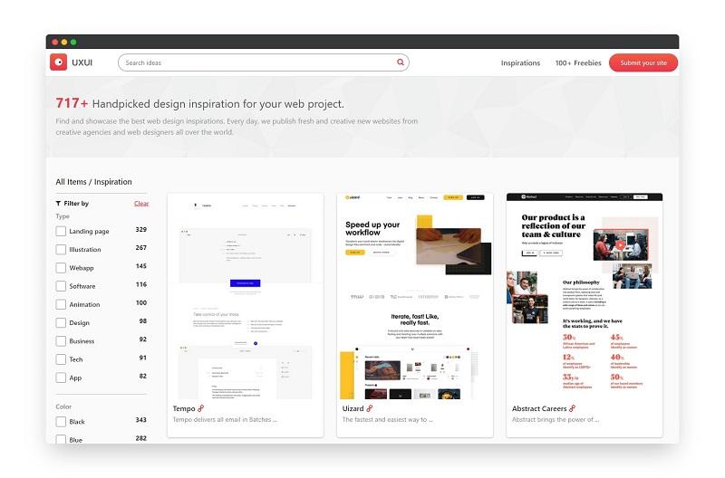 UXUI | 国外优秀网页设计灵感