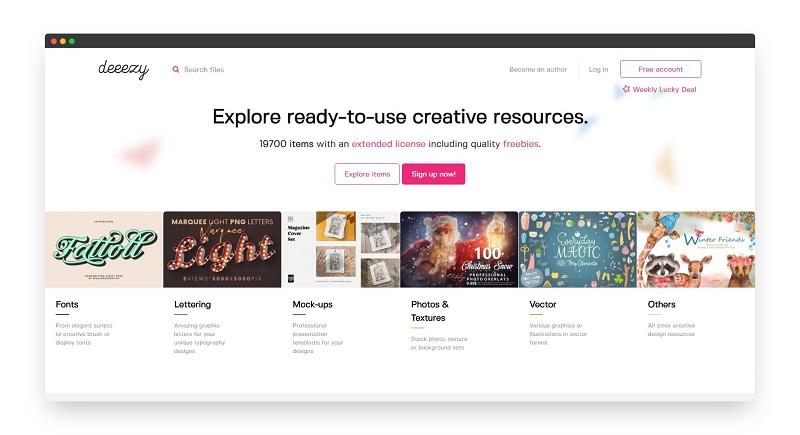 Deeezy | 探索免费高质量的设计素材