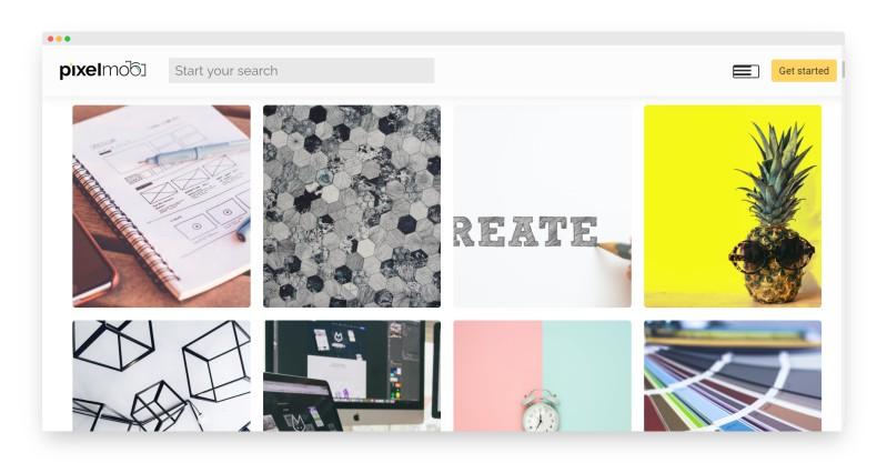 Pixelmob | 数百万张免费图片搜索神器