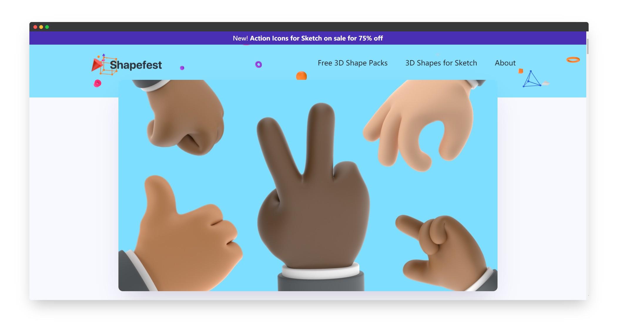 Shapefest | 有趣免费的3D模型素材站