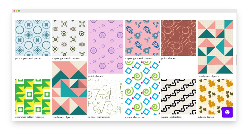 Everypixel Patterns | 令人惊叹的创意图案在线设计神器