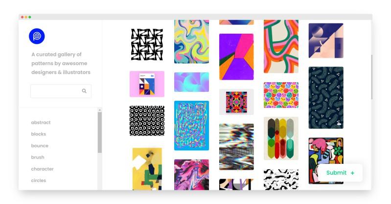 Pattern Collect | 1000多名优秀设计师和插画师创建的图案画廊