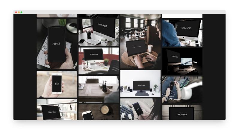MockDrop | 在线生成免费样机模型界面