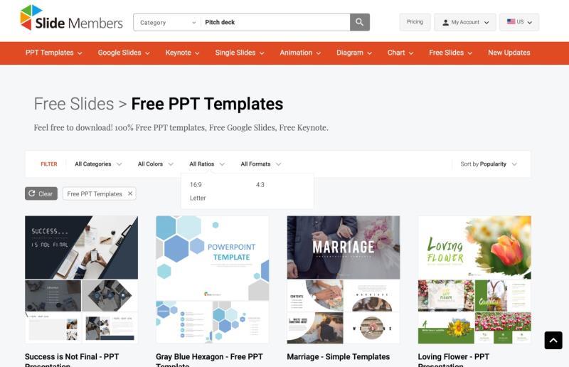 收藏国外5款免费PPT模板网站,让您轻松完成年终报告!
