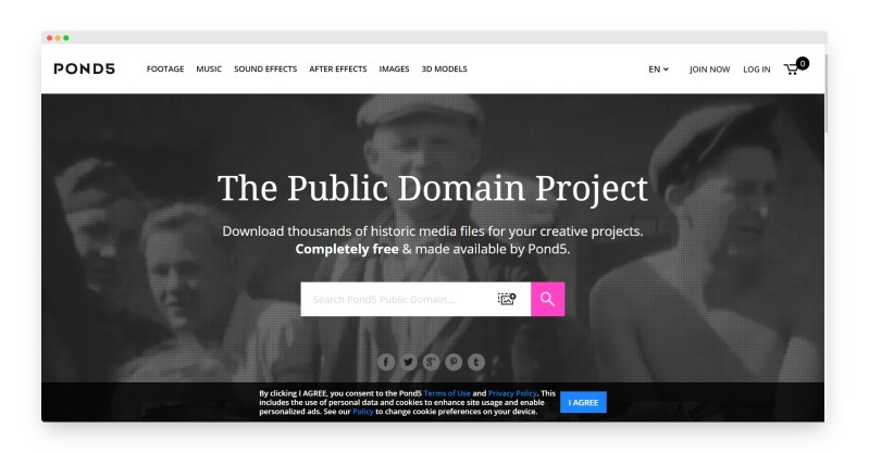 Pond5 | 全球最大的免版税多媒体资源网站