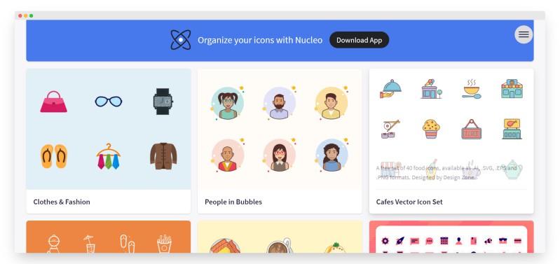 iconstore   超一流设计师分享的图标素材站