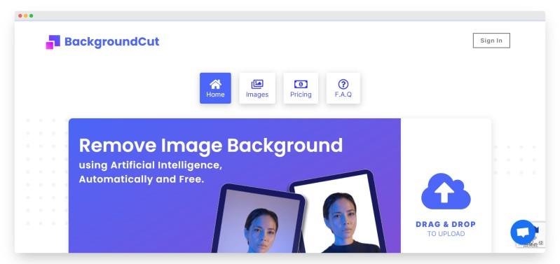 Backgroundcut | 智能AI在线抠图神器