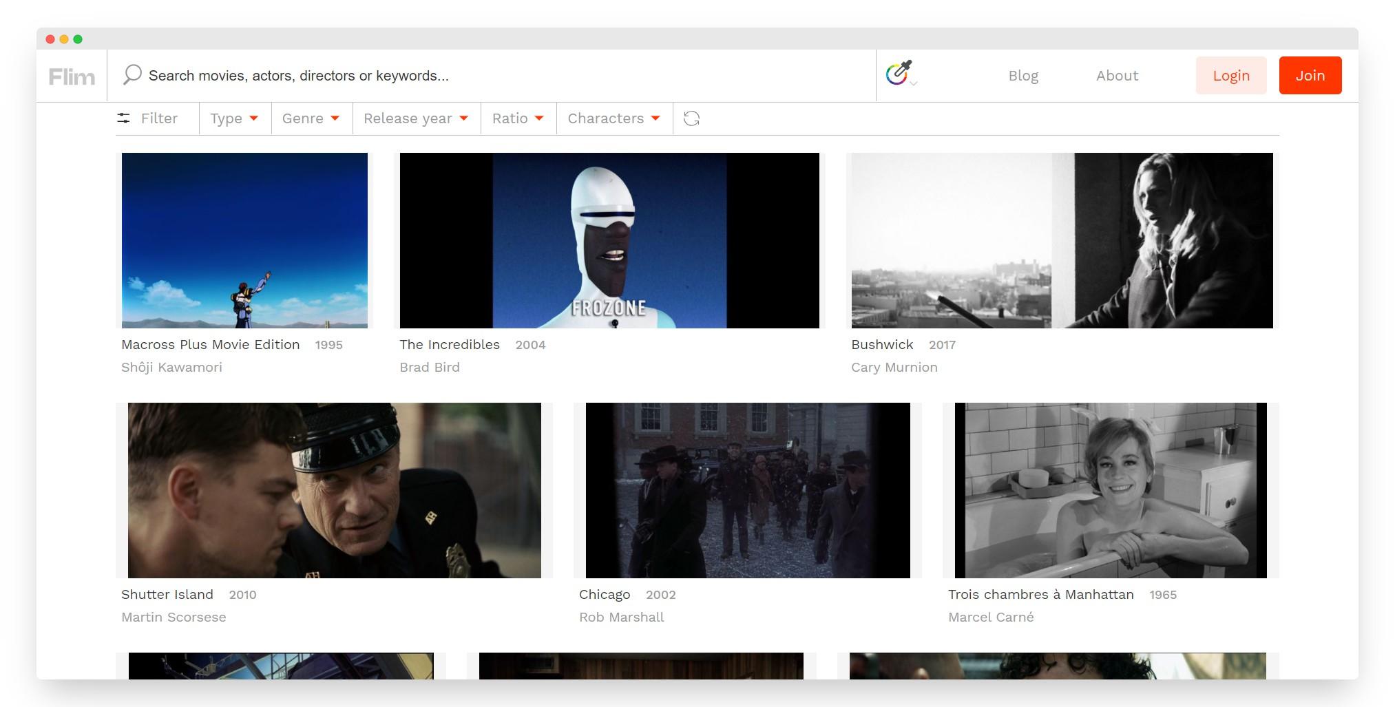 Flim | 26万张电影场景图片素材